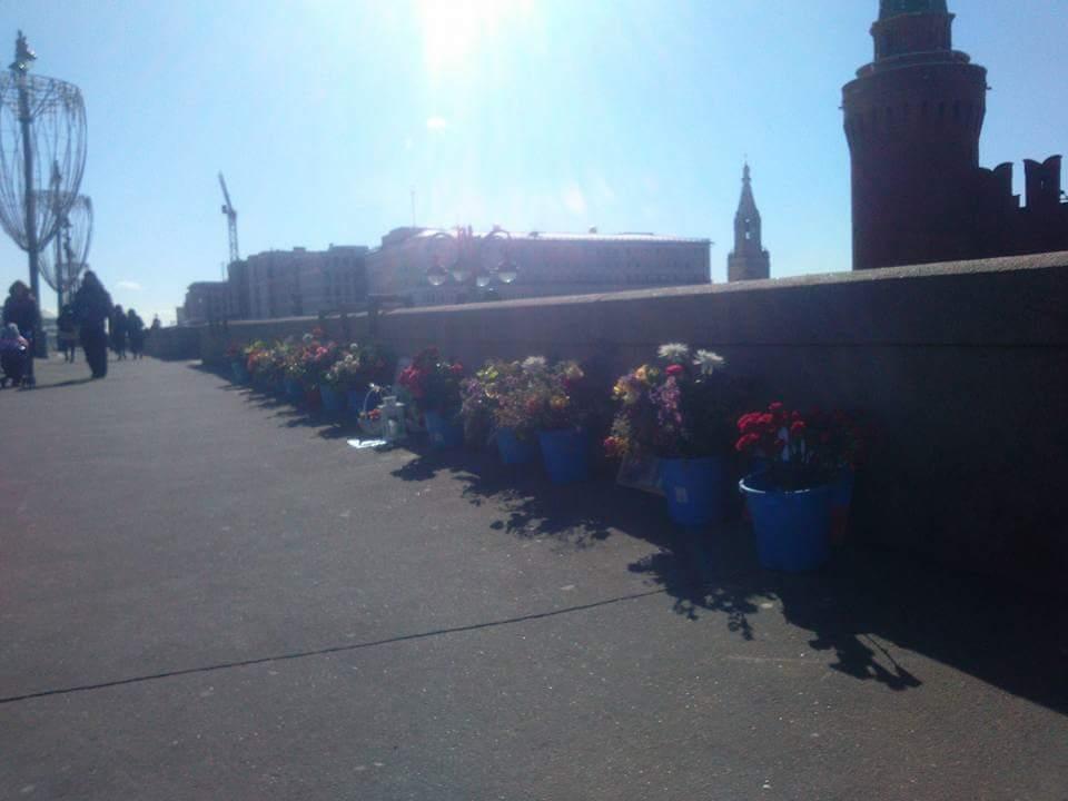 Немцов мост 24 марта 2018 года
