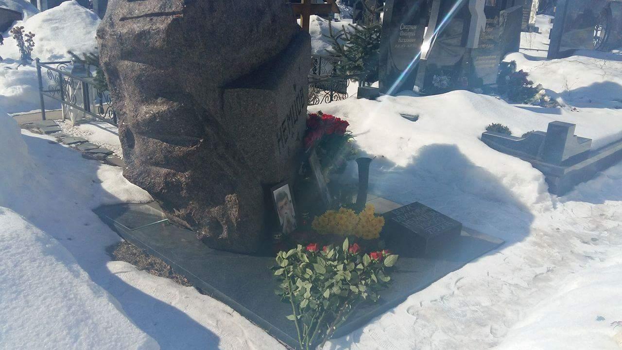 Троекуровское кладбище 24 марта 2018 года. Фото Юлии Дроговой