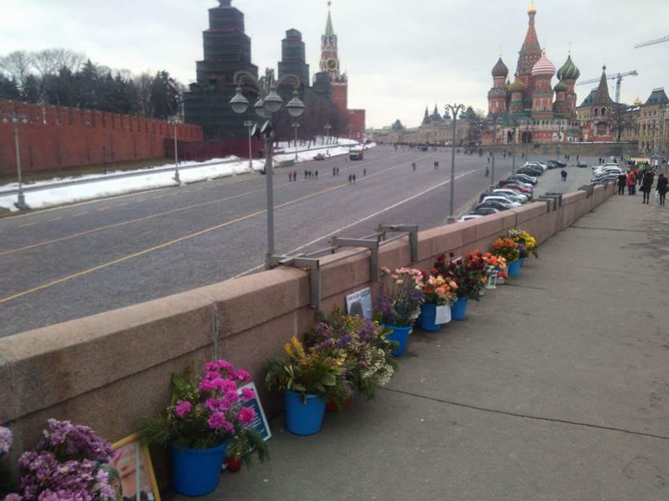 Немцов мост 31 марта 2018 года