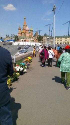 Немцов мост 18 августа 2018 года
